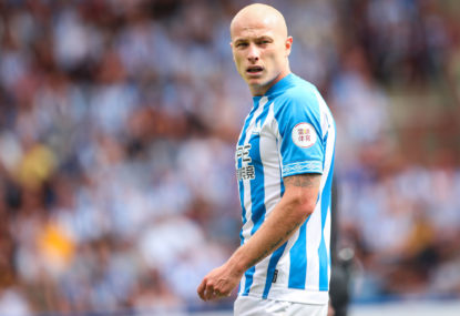 Aussie Aaron Mooy scores twice to drag Huddersfield out of the drop zone