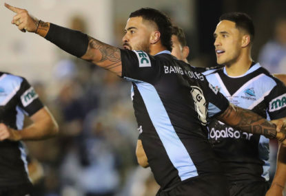 Fifita fires up as Cronulla conquer Cowboys