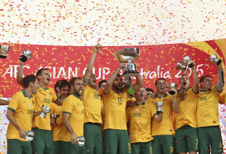 Australia win the 2015 Asian Cup.