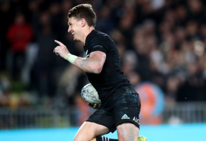 All Blacks march forward to get the right balance of pace and control