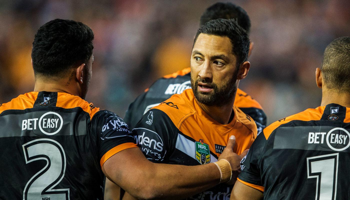 30b4228a601 Wests Tigers vs New Zealand Warriors  Tigers go top with big win