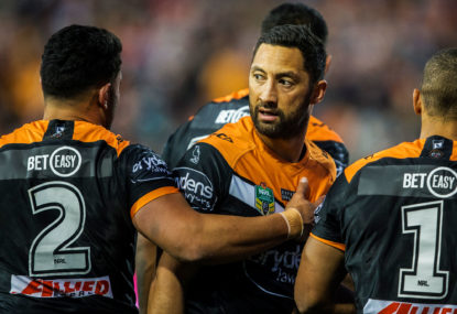 Wests Tigers vs  North Queensland Cowboys; NRL live scores, blog