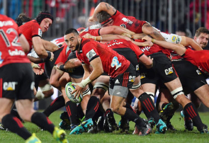 Crusaders vs Sharks: Super Rugby live scores, blog