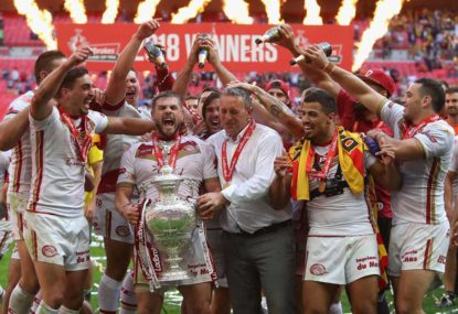 Catalans triumph: Rugby league takes another tentative couple of steps forward
