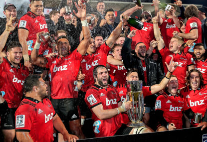 The Wrap: Crusaders win the stats that matter - and with them the title