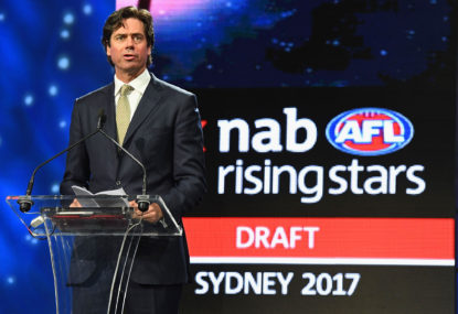 So long as we're shaking up the AFL draft, why not make it an auction?