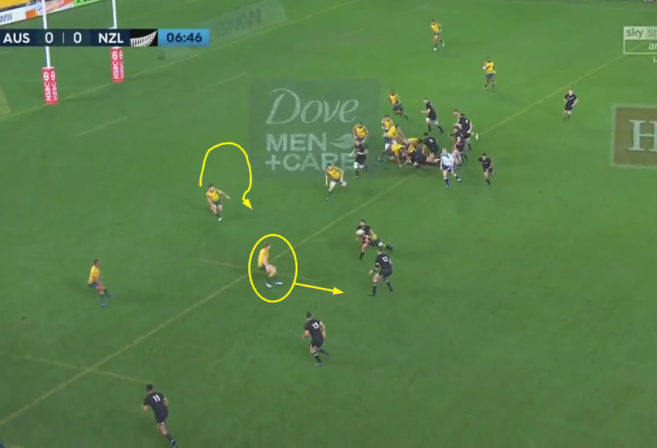 reece hodge defensive play vs new zealand