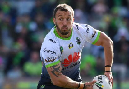 NRL near misses drive Raiders Josh Hodgson