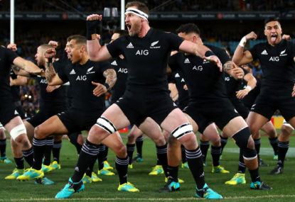 The ethnic diversity of the All Blacks