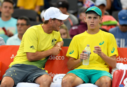 Hewitt primed for crucial Davis Cup qualifier