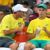 Lleyton Hewitt and Alex de Minaur at the Davis Cup.