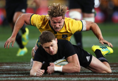 WATCH: Video match highlights from Wallabies vs All Blacks Bledisloe Cup Game 1