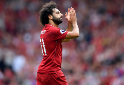 Liverpool's Salah tests positive for COVID