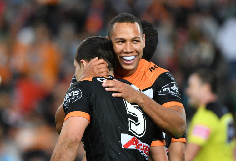 Moses Mbye of the Tigers.