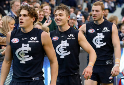 Carlton's rebuild stems on this trade period
