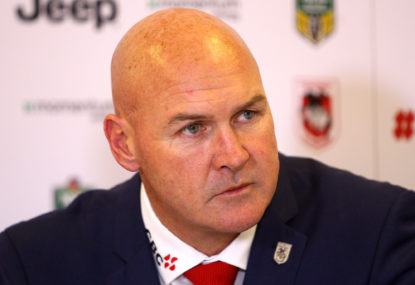 Is McGregor the right man to coach the Dragons?