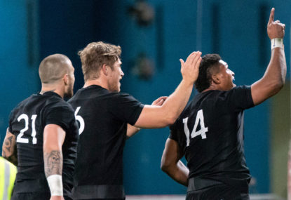 All Blacks back Rieko Ioane to respond in Test