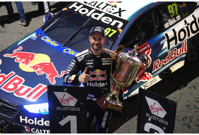 Sydney SuperNight 300 winner Shane Van Gisbergen.