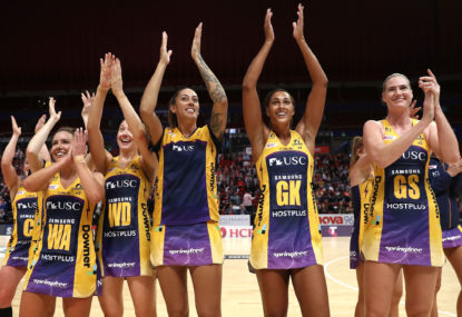 Lightning strikes twice: Sunshine Coast go back to back in Super Netball