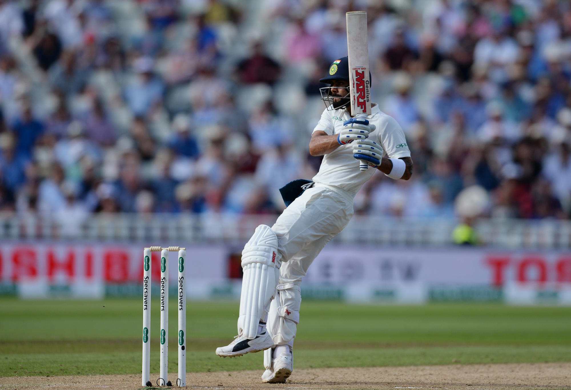 Virat Kohli batting at Birmingam.