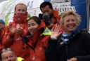 Wendy Tuck makes sail history