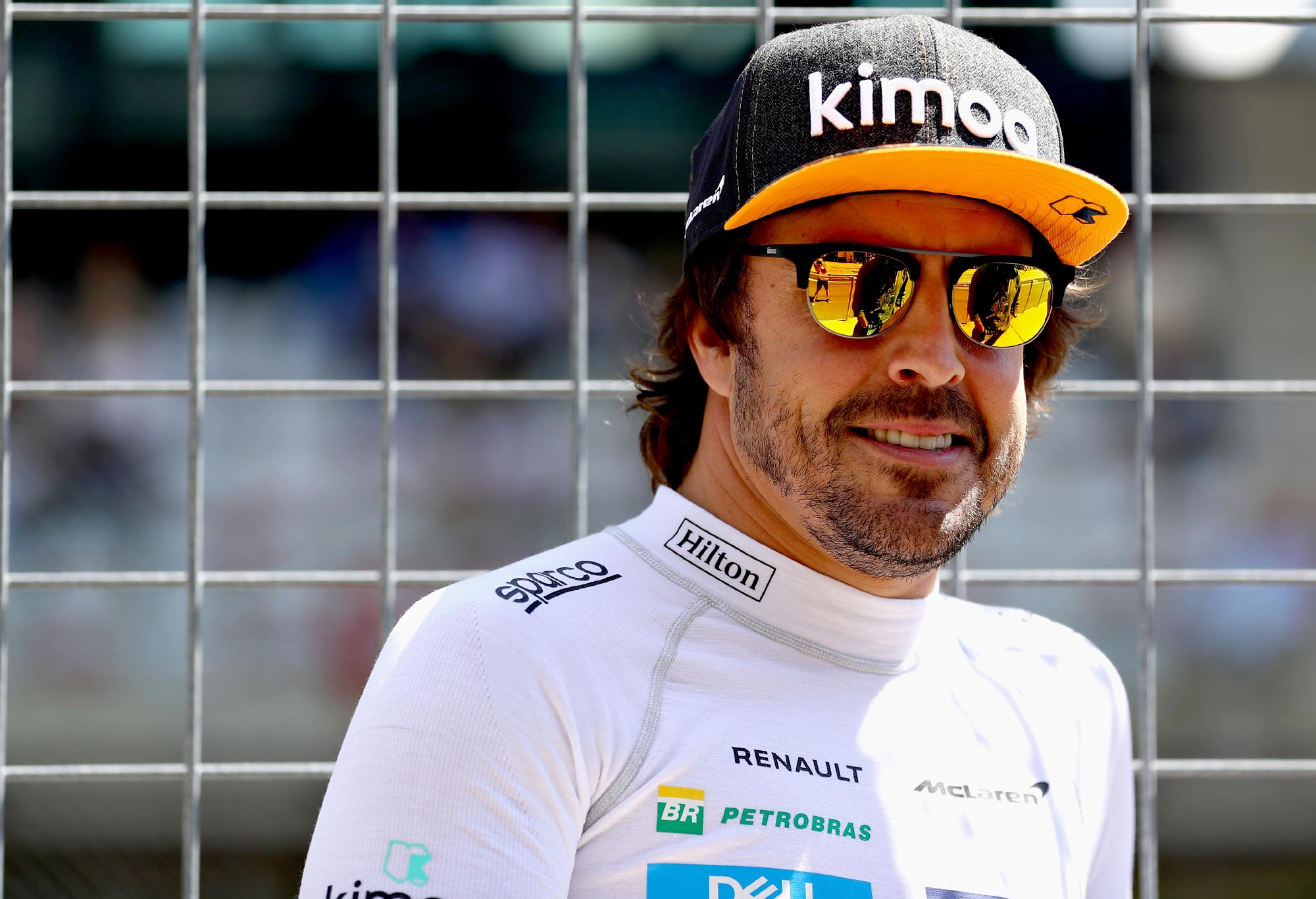 Fernando Alonso of Spain and McLaren F1 looks on before the Formula One Grand Prix of Austria at Red Bull Ring on July 1, 2018 in Spielberg, Austria. (Photo by Mark Thompson/Getty Images)