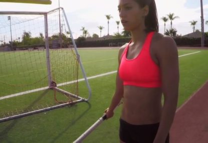 This is what it takes to master pole vaulting