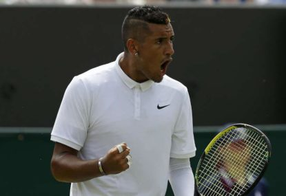 Nick Kyrgios' remarkable history at Wimbledon