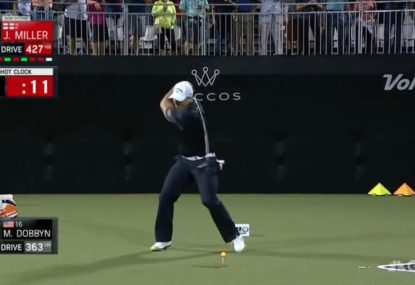 Golfer launches ridiculous 437-yard drive