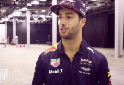 Dan Ricciardo outlines how he spends a typical day