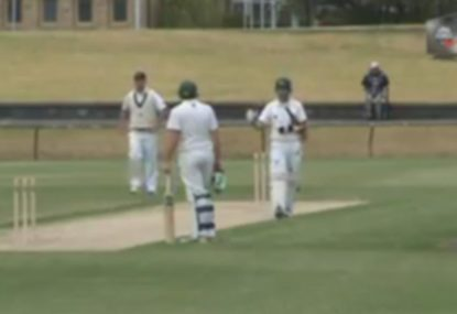 Clever wicket or bad sportsmanship?