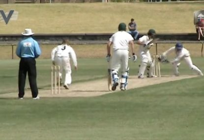 Out or not out? The stumping that simply can't be decided