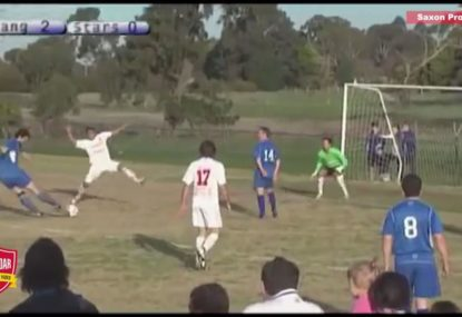 Cut back, nutmeg, clinical finish - This goal has it all!