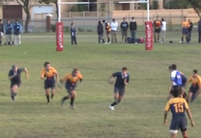 Hands down the best schoolboy rugby highlights ever captured