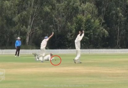 Controversial dropped catch brings sportsmanship into question