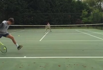 Little legend hits perfect tweener