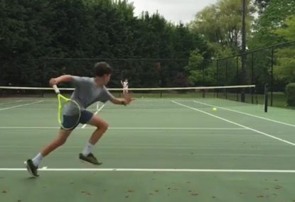 Federer clones showing off skills beyond their years
