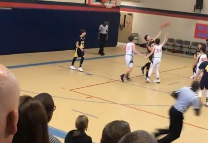 High schooler drains full court buzzer beater for victory