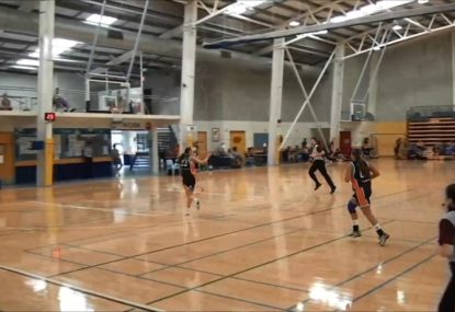Opals prospect brilliantly strips the ball and converts
