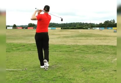 Golf trick shot genius' fairway juggling masterclass
