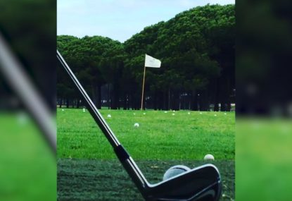 Perfect chip nails the flag challenge