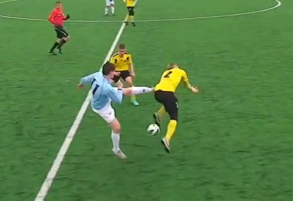 Is this the WORST red card of all time?