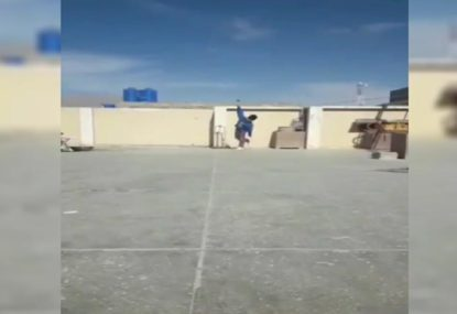 This six-year-old leg-spinner's skills have even left Warnie STUNNED