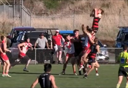 'The Flying Mullet' takes mark of the year contender!