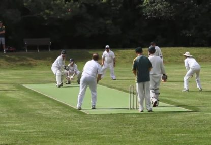 Is this classic the WORST maiden ever bowled?