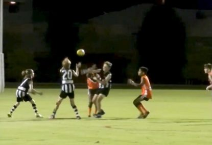 Is this unique dropped ball situation a free kick call or not?