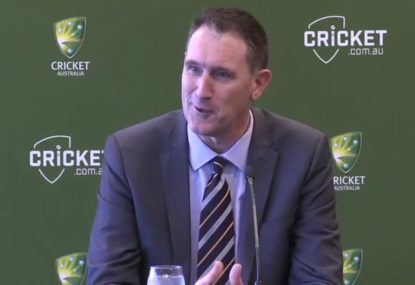 Cricket Australia CEO to stay on for 12 months after resignation