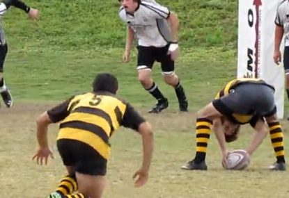 What!? Is this the worst trick play in rugby history?