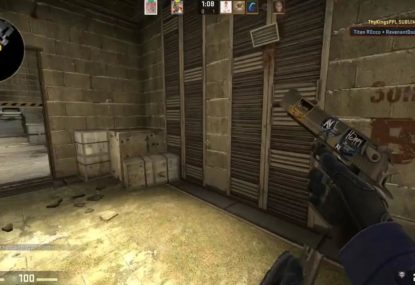 Beastly 4-player Desert Eagle kill streak is simply perfection