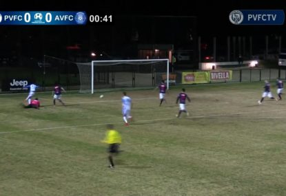 Brilliant dink draws first blood in opening minute!